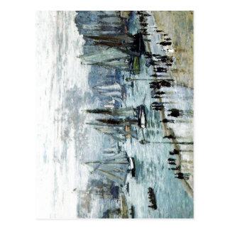 Claude Monet, barcos de pesca que salen del puerto Postales