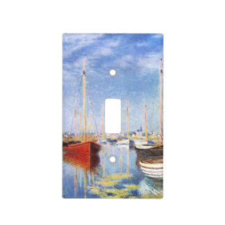 Claude Monet: Barcos de placer en Argenteuil Cubierta Para Interruptor