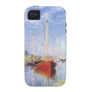 Claude Monet: Barcos de placer en Argenteuil Vibe iPhone 4 Carcasas