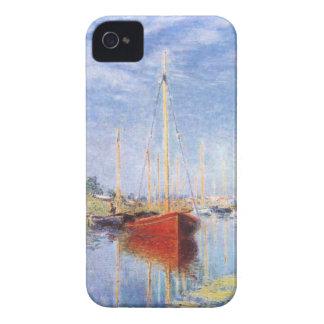 Claude Monet: Barcos de placer en Argenteuil Case-Mate iPhone 4 Cárcasa