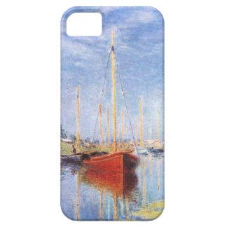 Claude Monet: Barcos de placer en Argenteuil iPhone 5 Case-Mate Coberturas