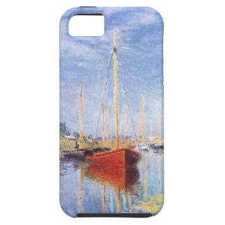Claude Monet: Barcos de placer en Argenteuil iPhone 5 Funda