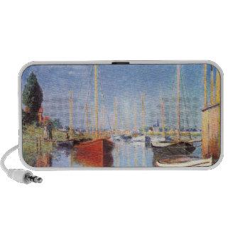 Claude Monet: Barcos de placer en Argenteuil iPod Altavoz