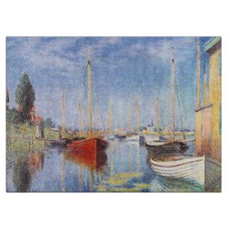 Claude Monet: Barcos de placer en Argenteuil Tablas De Cortar
