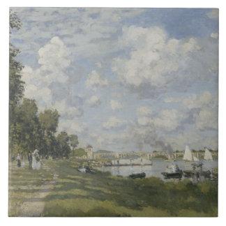 Claude Monet - Bassin d'Argenteuil Tile