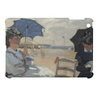 Claude Monet Beach Scene iPad Mini Cover