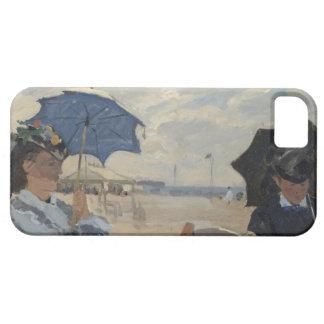 Claude Monet Beach Scene iPhone SE/5/5s Case
