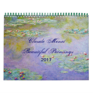 Claude Monet Beautiful Scenic Fine Art Calendar