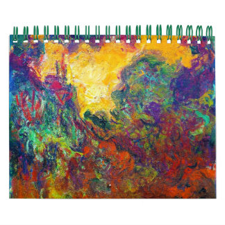 Claude Monet best fine art painting calendar 2013