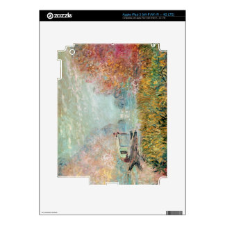 Claude Monet |  Boat Studio on the Seine iPad 3 Decal