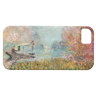 Claude Monet    Boat Studio on the Seine iPhone SE/5/5s Case
