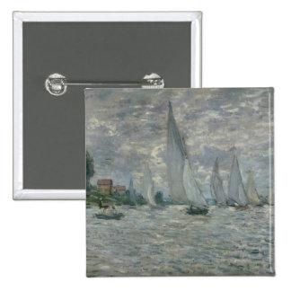 Claude Monet | Boats, or Regatta at Argenteuil Button