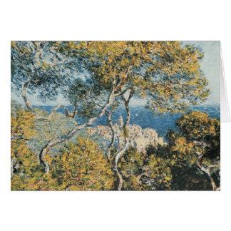 Claude Monet - Bordighera Tarjeta De Felicitación