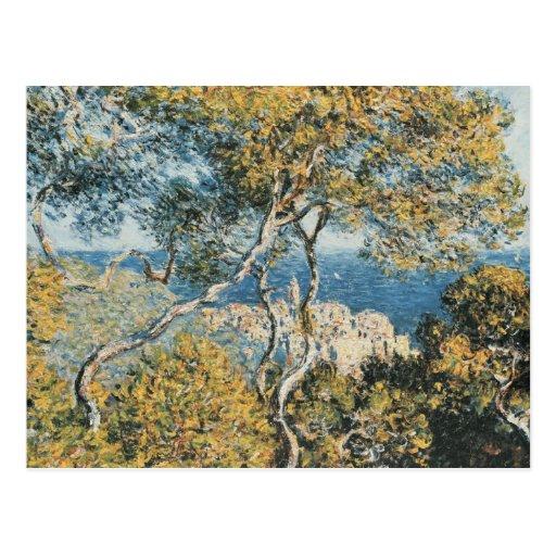 Claude Monet - Bordighera Tarjeta Postal