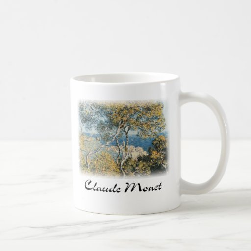 Claude Monet - Bordighera Taza