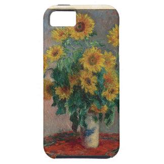 Claude Monet: Bouquet of Sunflower Vintage Art iPhone 5 Case