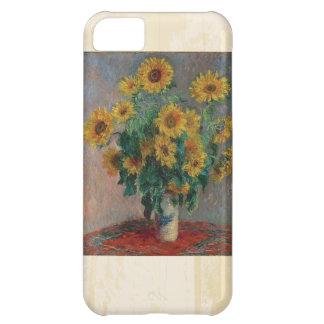 Claude Monet: Bouquet of Sunflower Vintage Art Cover For iPhone 5C