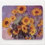 Claude Monet - Bouquet of Sunflowers Mouse Pad