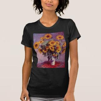 Claude Monet Bouquet of Sunflowers Tee Shirts
