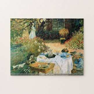 Claude Monet - Breakfast puzzle
