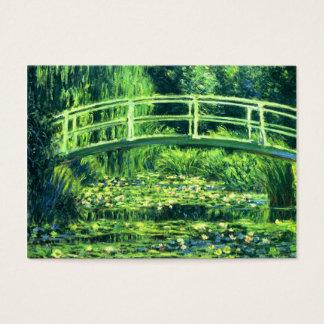 Claude Monet: Bridge Over a Pond of Water Lilies Business Card