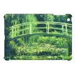 Claude Monet: Bridge Over a Pond of Water Lilies iPad Mini Cases