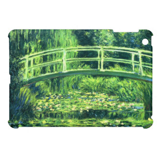 Claude Monet: Bridge Over a Pond of Water Lilies iPad Mini Cover