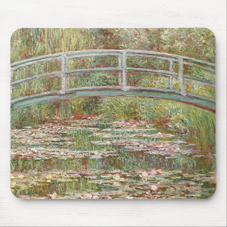 Claude Monet - Bridge Over a Pond of Water Lilies Mouse Pad