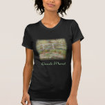Claude Monet - Bridge Over a Pond of Water Lilies Tshirts