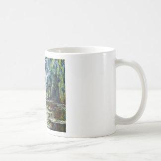 Claude Monet Bridge Over Water Lily Pond Coffee Mugs