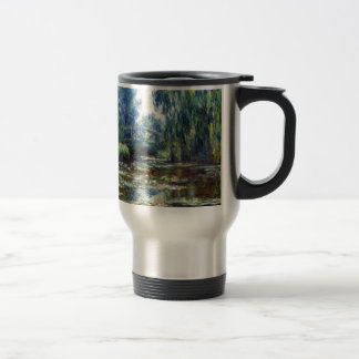 Claude Monet Bridge Over Water Lily Pond Travel Mug