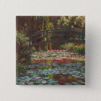 Claude Monet Button