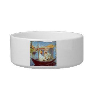 Claude Monet by Edouard Manet Cat Bowl
