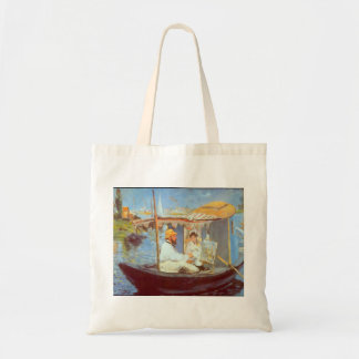 Claude Monet by Edouard Manet Tote Bag