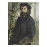 Claude Monet by Pierre-Auguste Renoir Cards