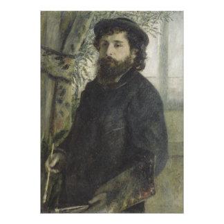 Claude Monet by Pierre-Auguste Renoir Photo Print