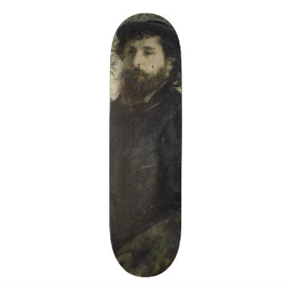 Claude Monet by Pierre-Auguste Renoir Skateboard Deck