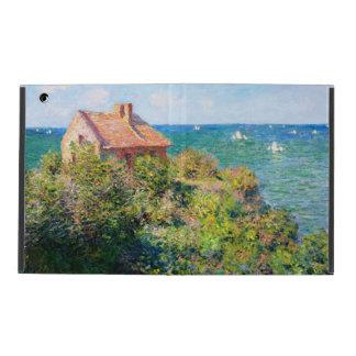 Claude Monet: Cabaña de Fishermans en Varengeville