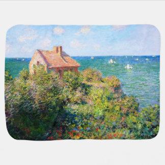Claude Monet: Cabaña de Fishermans en Varengeville Mantas De Bebé