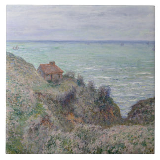 Claude Monet - Cabin of the Customs Watch Ceramic Tile