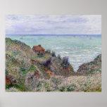 Claude Monet Cabin Of The Customs Watch Poster