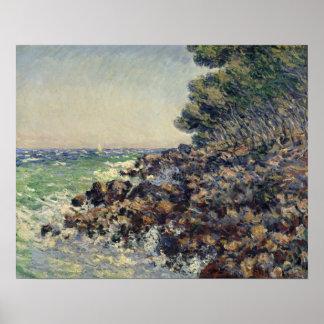Claude Monet   Cap Martin, 1884 Poster