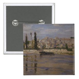 Claude Monet | Carrieres-Saint-Denis, 1872 Button