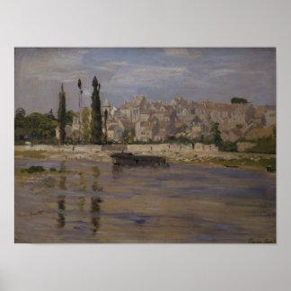 Claude Monet | Carrieres-Saint-Denis, 1872 Poster