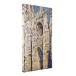 Claude Monet - catedral de Ruán Impresión En Lona Estirada