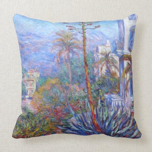 Claude Monet: Chalets en Bordighera Almohada