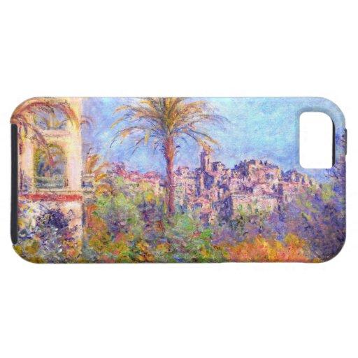Claude Monet: Chalets en Bordighera iPhone 5 Protectores