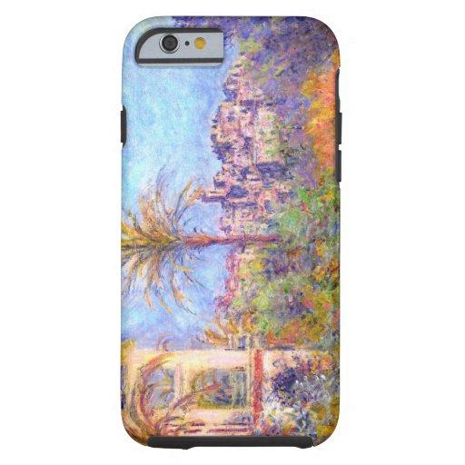 Claude Monet: Chalets en Bordighera Funda De iPhone 6 Tough