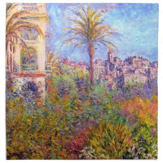 Claude Monet Chalets en Bordighera Servilleta