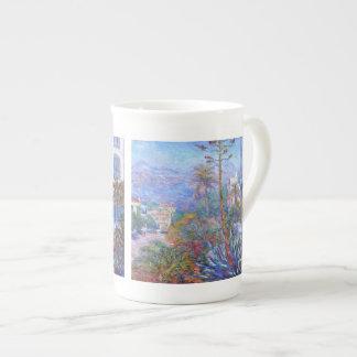 Claude Monet: Chalets en Bordighera Taza De Porcelana